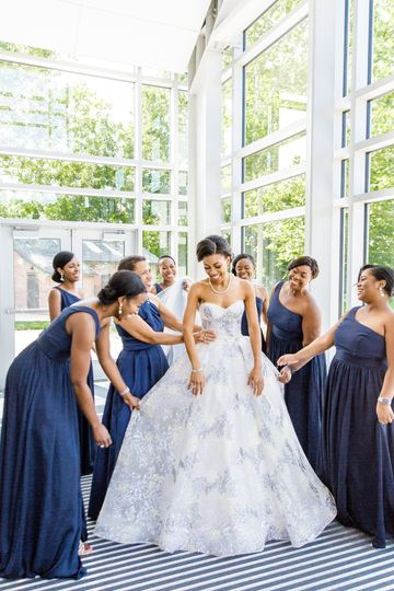 Bridesmaids - iris mannings photography