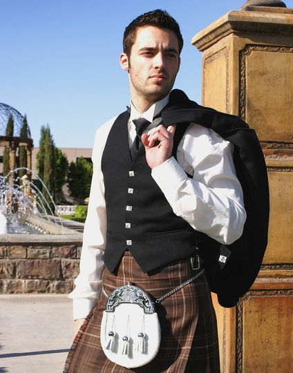 American and Canadian kilt
