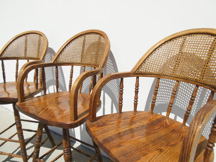 Old-time bar stools