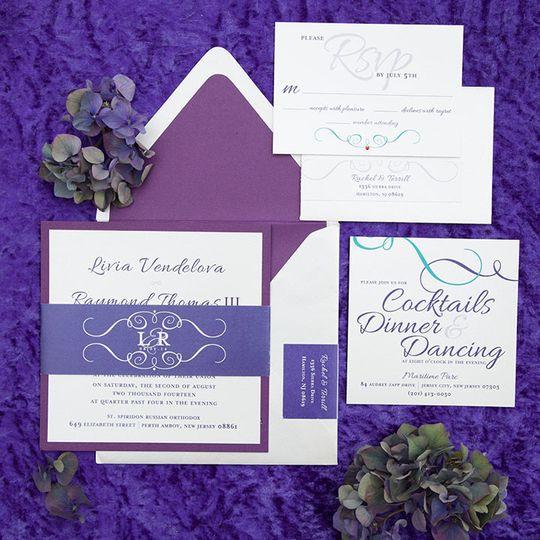 paper invitation design invitations matawan nj
