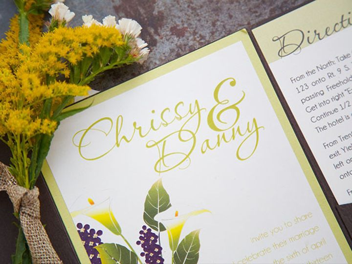 Tmx 1445352797568 Chrissy And Danny High Res 12 Matawan, New Jersey wedding invitation