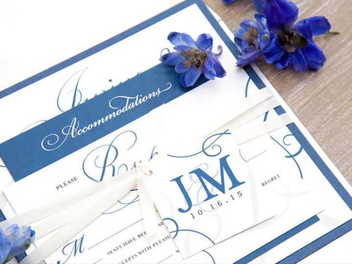 Tmx 1445352840609 Janine And Matthew Web Res 16 Matawan, New Jersey wedding invitation
