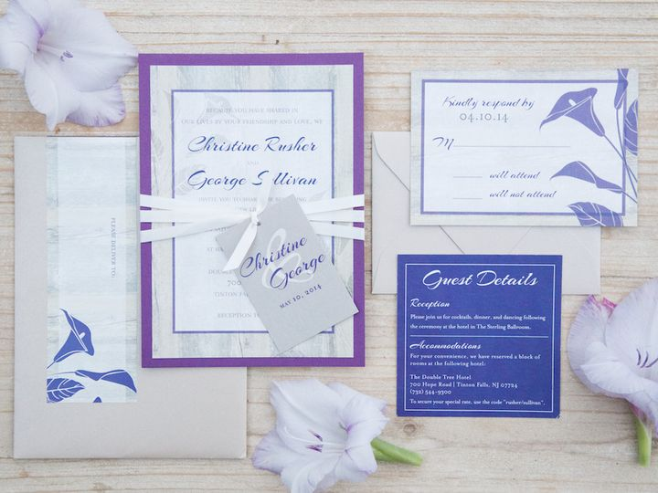 Tmx 1446213467757 Christine And George Web Res 16 Matawan, New Jersey wedding invitation