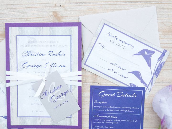 Tmx 1446213474511 Christine And George Web Res 15 Matawan, New Jersey wedding invitation