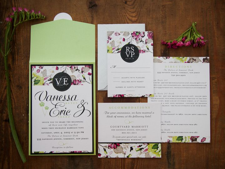 Tmx 1446213767352 Vanessa And Eric Web Res 15 Matawan, New Jersey wedding invitation