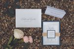 Paper Rose Invitation & Design image