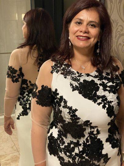 Custom-made dress