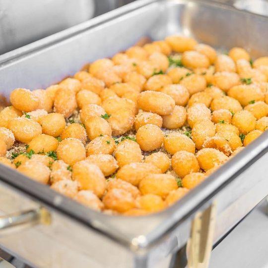 Parmesean Crusted Potatoes