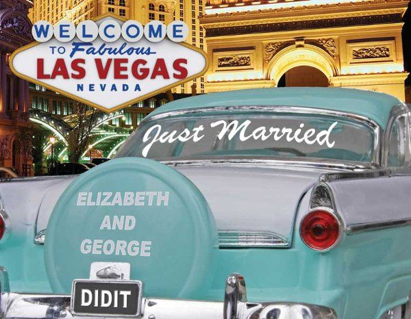 Got Married in Las Vegas? Now it's time to announce it.