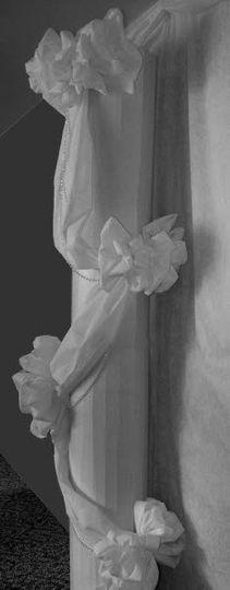 Cascade bows to grace pillars, columns, balconys, railings, entry ways, windows and more.