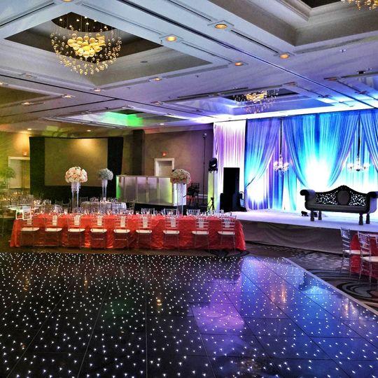 LED Dance Floor & Uplighting