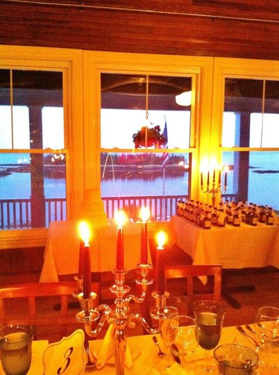 Candlelight dinner at Grey Havens Inn restaurant