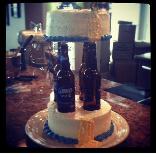 Bud light cake
