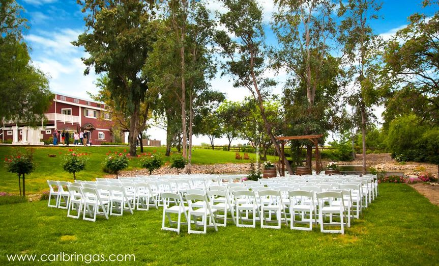 Ceremony Lawn is ready!