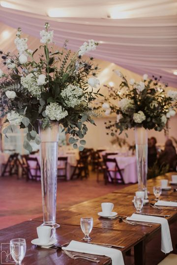 Long table setup | YTK Photography