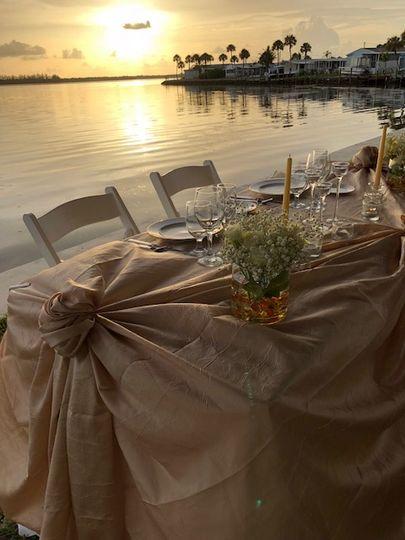 Coastal elegant wedding