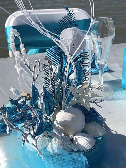 Mermaid-themed wedding