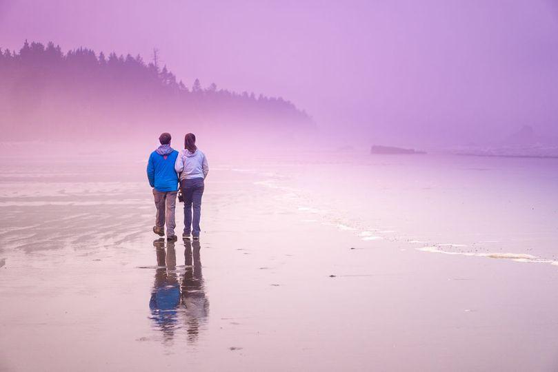 A stunning couple shot
