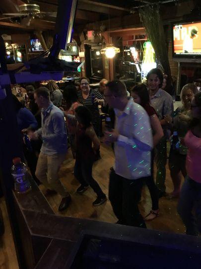 Karaoke and dancing at Maxie's