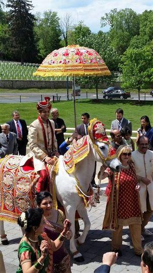 Baraat! (Annapolis wedding)