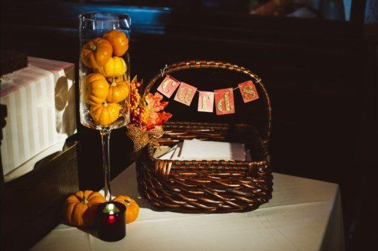 Basket and decor