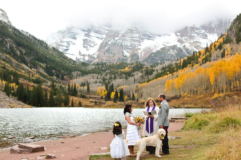 maroon bells eloping ceremony