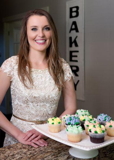 Kayla, owner/head baker