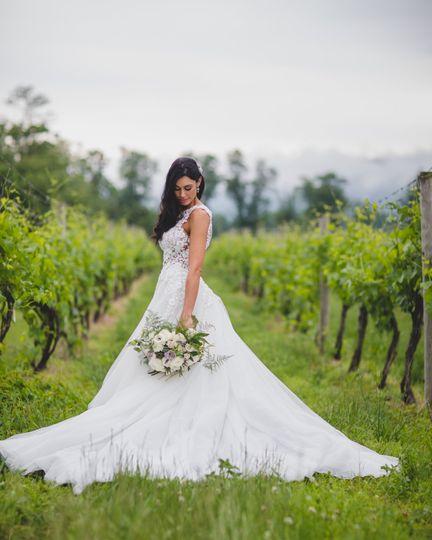 Wedding in Breaux Vineyard, VA