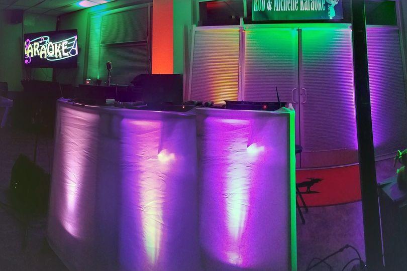 Panaramic Up lights