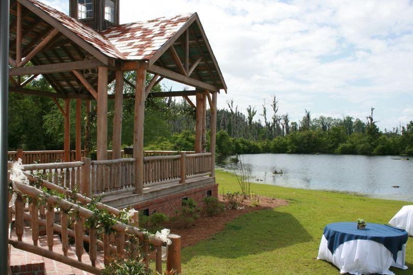 Gazebo by the lake