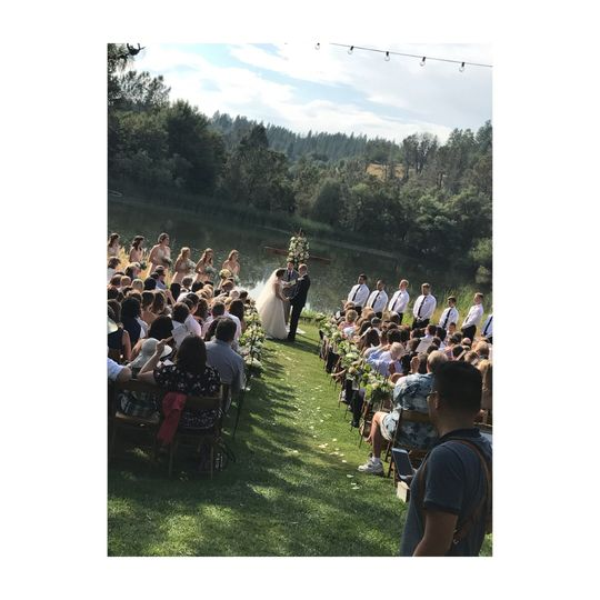 Ceremony in Placerville, CA
