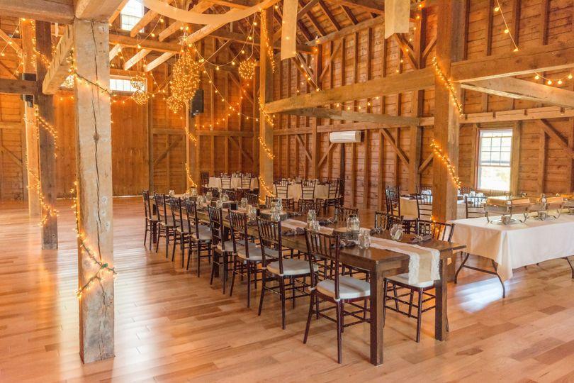 The 1888 Wedding Barn in scenic Sunday River Valley Area#maineweddings#mountainwedding...