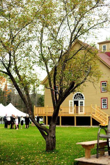 1888 Wedding Barn in scenic Sunday River Valley Area#maineweddings