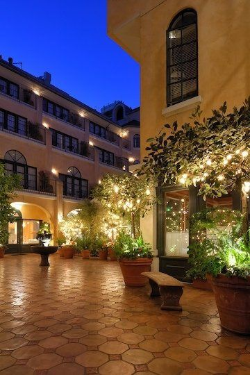 Courtyard Patio