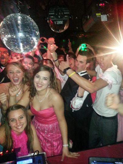 Everyone loves the DJ