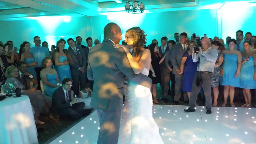 First dance with uplights