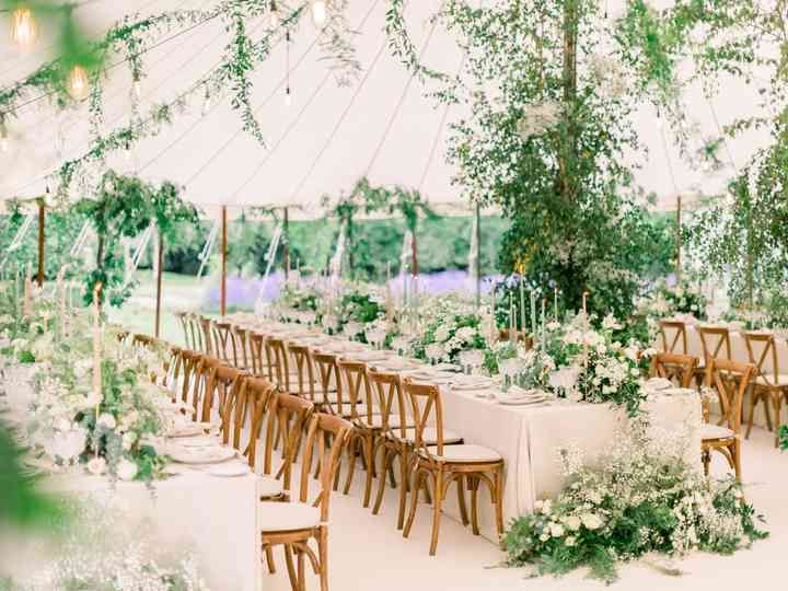 Long table tent