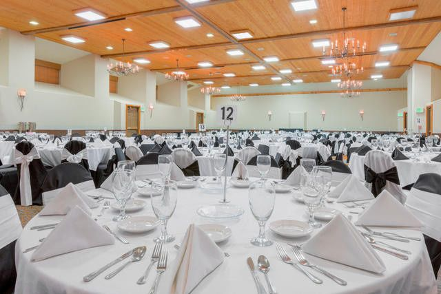 Our ballroom is the largest banquet space on the entire mountain.