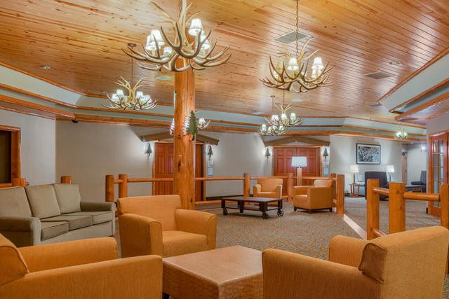 Our banquet center, linking our seven banquet rooms.