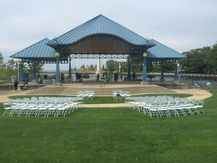 Pavilion set up