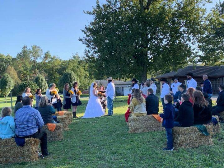 Outdoor Farm Ceremony