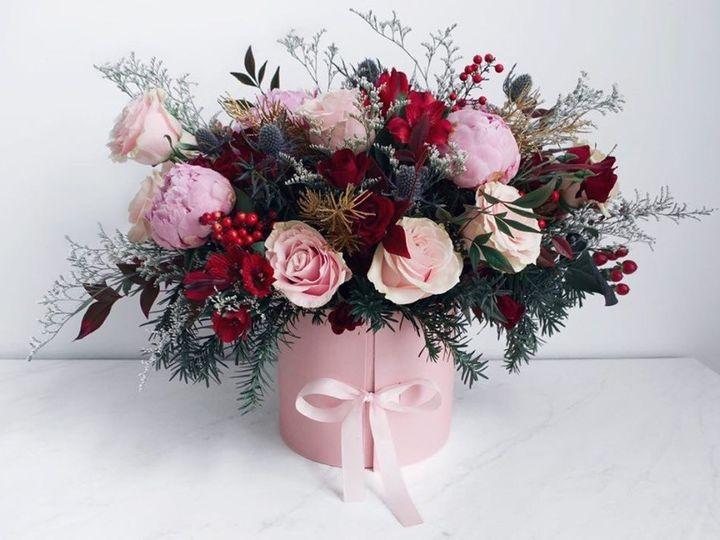 Tmx Christmas Boxed Flower 51 1038797 157819517123806 Greenville, SC wedding florist