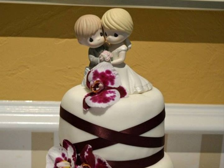 Tmx 1376496840155 12 Pleasanton wedding cake