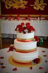 Tmx 1457284662180 6279275 Pleasanton wedding cake