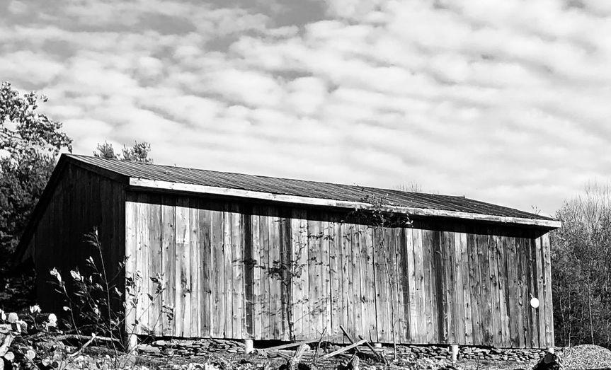 Rustic barn exterior