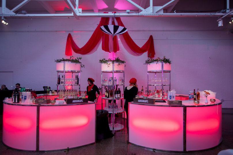 Custom Glow Bar