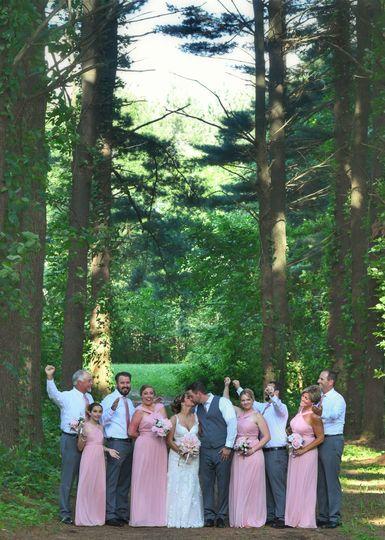 Woodland celebration