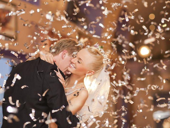 Tmx 1402025157984 Wedding Couple With Confetti Saint Paul wedding dj
