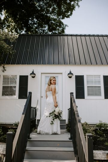 Front of bridal suite