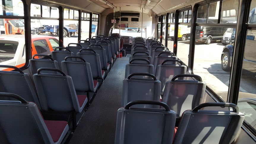 Wide seats